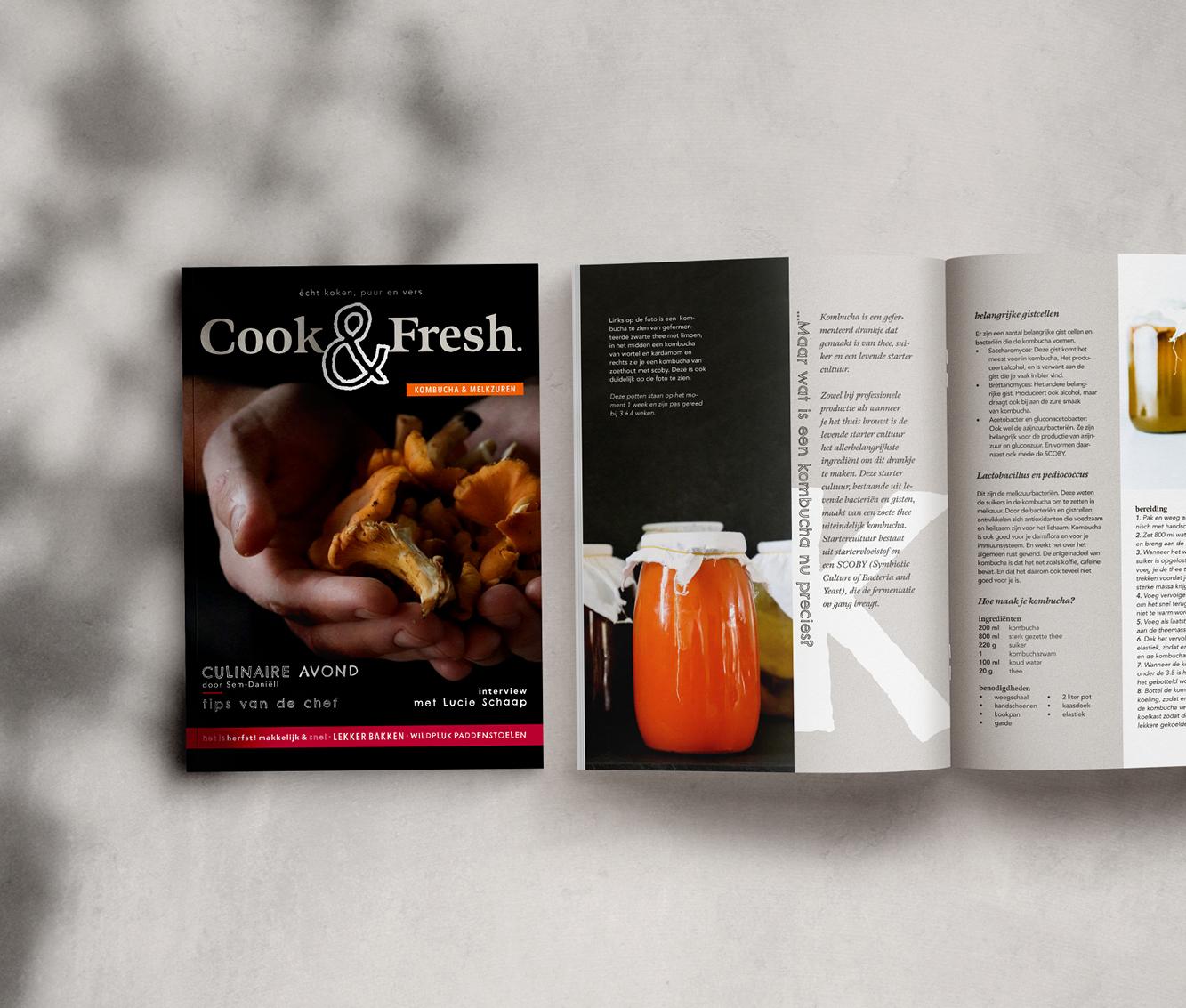 Studio Marly - Creative Agency - Cook & Fresh
