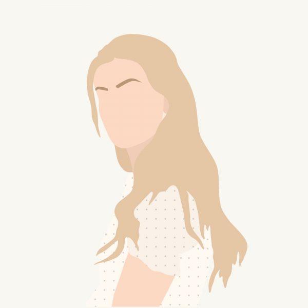 Portret illustratie | Minimal 1 persoon