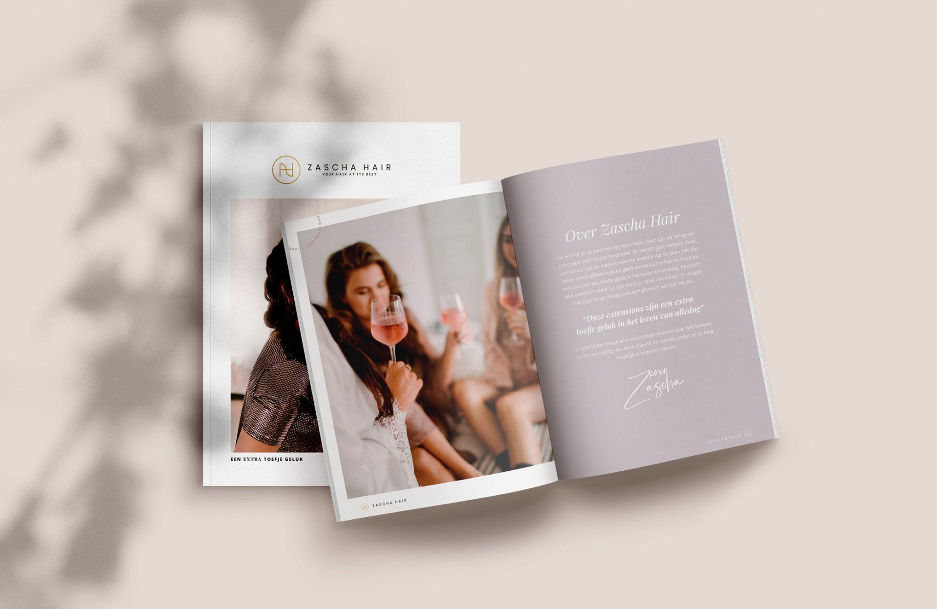 Studio Marly - Creative Agency - Zascha Hair
