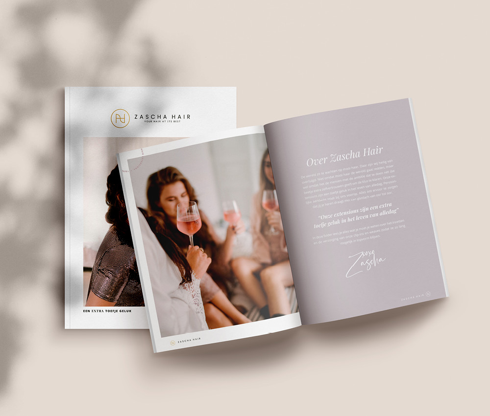 Studio Marly - Brochure Zascha Hair